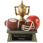 Vintage Trophy Award Football 3D Resin Trophy Awards