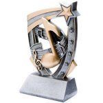 3D Resin Music 3D RST Series Resin Trophy Awards
