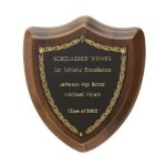 Laurel Shield Plaque Achievement Awards
