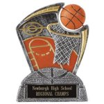 Large Spin Award Basketball Basketball Trophy Awards
