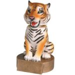 Tiger Bobble Bobble Head Resin Trophy Awards
