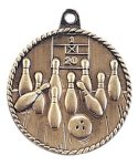 High Relief Medal -Bowling  Bowling Trophy Awards