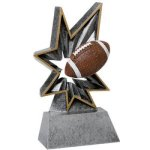 Football Bobble Resin BR Resin Trophy Awards