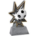 Soccer Bobble Resin BR Resin Trophy Awards