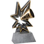 Cheer Bobble Resin BR Resin Trophy Awards