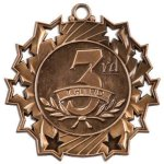 Ten Star Medal -3rd Place  Car/Automobile Trophy Awards