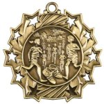 Ten Star Medal -Cross Country  Cross Country Trophy Awards