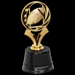 MidNite Star Trophy -Football Figure on a Base Trophies