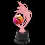Customized Pink Trophy -Dance Figure on a Base Trophies