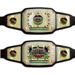 Fantasy Football Championship Belt Football Trophy Awards