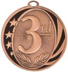 MidNite Star Medal -3rd Place  Football Trophy Awards