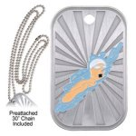 Swimming Dog Tag GL Series Dog Tags