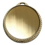 Bright Finish Laurel Leaf Insert Medal Insert Medallion Awards