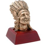 Indian Resin Mascot Resin Trophy Awards