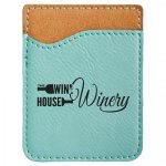 Leatherette Phone Wallet -Teal Misc. Gift Awards