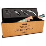 Cork Single Wine Box with Tools Misc. Gift Awards