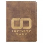 Leatherette Passport Holder -Rustic/Gold Misc. Gift Awards