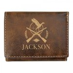 Leatherette Trifold Wallet -Rustic Misc. Gift Awards