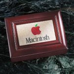 Wood Box with Stonecast Inlay Misc. Gift Awards