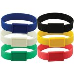 Silicone Wristband W/ Large Emblematic Patch Misc. Gift Awards
