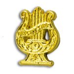 Orchestra Chenille Letter Pin Music Trophy Awards