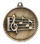 High Relief Medal -Music  Music Trophy Awards