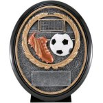 Soccer Resin Oval Oval Resin Trophy Awards