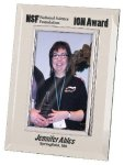 Silver & Glass Picture Frame Award Photo Gift Items