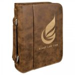 Leatherette Bible/Book Cover -Rustic/Gold Religious Awards
