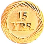 15 Year Pin Sales Awards
