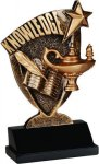 Broadcast Resin -Lamp of Knowledge Scholastic Trophy Awards