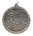 Shooting Star Medal -Music Scholastic Trophy Awards