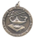 Shooting Star Medal -Lamp of Learning  Scholastic Trophy Awards