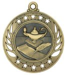 Galaxy Medal -Lamp of Knowledge  Scholastic Trophy Awards