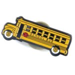 School Bus Lapel Pin Scholastic Trophy Awards