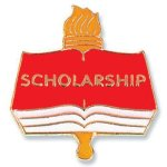 Scholarship Lapel Pin Scholastic Trophy Awards