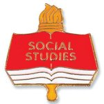 Social Studies Lapel Pin Scholastic Trophy Awards
