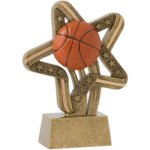 Basketball Stars & Stripes Stars & Stripes Resin Trophy Awards