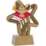 Lamp Of Knowledge Stars & Stripes Stars & Stripes Resin Trophy Awards