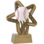 Baseball Stars & Stripes Stars & Stripes Resin Trophy Awards