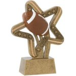 Football Stars & Stripes Stars & Stripes Resin Trophy Awards