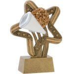 Cheer Stars & Stripes Stars & Stripes Resin Trophy Awards