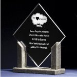 Diamond Stone Acrylic Awards