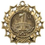 Ten Star Medal -1st Place  Surfing Trophy Awards