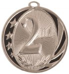 MidNite Star Medal -2nd Place Swimming Trophy Awards