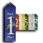 Track - 1st Place Ribbon Track Trophy Awards
