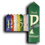 Track - Participant Ribbon Track Trophy Awards