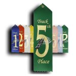 Track - 5th Place Ribbon Track Trophy Awards