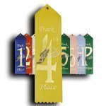 Track - 4th Place Ribbon Track Trophy Awards