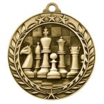 Wreath Award Medallion -Chess Wreath Medal Awards